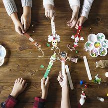 Jednostavni 'uradi sam' božićni ukrasi koje možete izraditi s djecom