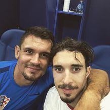 Šime Vrsaljko i Dejan Lovren (Foto:Instagram)