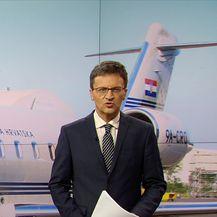 Vodstvo HDZ-a putovalo Vladinim zrakoplovom (Video: Vijesti u 17 h)
