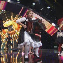 Nastup Vanesse Jakac u polufinalnoj emisiji Supertalenta (Foto: Dnevnik.hr) - 3