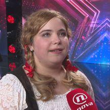 Vanessa Jakac, finalistica Supertalenta (Foto: Dnevnik.hr)
