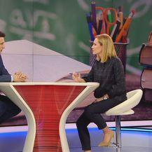 Božo Petrov i Ivana Brkić Tomljenović (Foto: Dnevnik.hr)