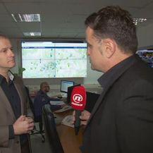 Antonio Gerovac, načelnik Uprave kriminalističke policije, i Andrija Jarak (Foto: Dnevnik.hr)