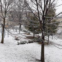 Snijeg u Zagrebu (Foto: Mirta Vranješ)