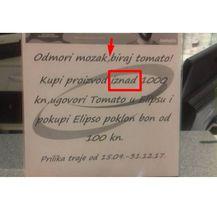 Jezične pogreške (Foto: Dnevnik.hr) - 7