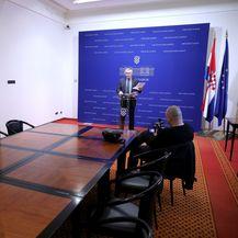 Saborski izvjestitelji bojkotirali konferenciju Željka Glasnovića (Foto: Patrik Macek/PIXSELL) - 2