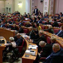 Pernar u Saboru zaradio opomenu (Video: Dnevnik.hr)