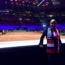 Predsjednica na finalu Davis Cupa (Foto: Ured Predsjednice)