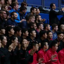 Kinezi na sportskoj obuci (Video: Dnevnik Nove TV)