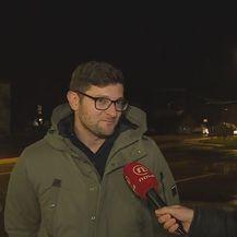 Zdravko Pocrnja, vlasnik vile u Tijarici, i Mario Jurič (Foto: Dnevnik.hr)