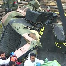Turski vojni helikopter (Video: Reuters)
