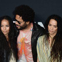 Zoe i Lenny Kravitz, Lisa Bonet (Foto: Getty Images)