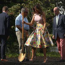 Prva dama u službenim prigodama gotovo uvijek nosi štikle