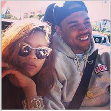 Rihanna i Chris Brown (Foto: Instagram)