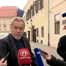 Milan Bandić uoči koalicijskog sastanka (Video: Dnevnik.hr)