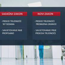 Sadašnji i budući zakon o pobačaju (Foto: Dnevnik.hr)