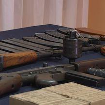 Dio zaplijenjenog oružja (Foto: Dnevnik.hr)