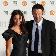 Ryan i Stacey Giggs (Foto: Dave Thompson/Press Association/PIXSELL)