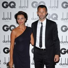 Ryan i Stacey Giggs (Foto:Doug Peters/Press Association/PIXSELL)