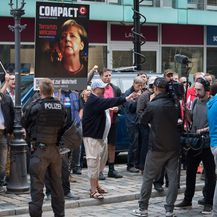 Prosvjedi Pegide u Dresdenu (Foto: DPA/Pixsell)