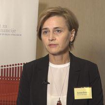 Sandra Švaljek, zamjenica guvernera HND-a (Foto: Dnevnik.hr)