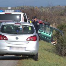 Prometna nesreća na cesti Ostrovo-Tordinci (Foto: Dnevnik.hr) - 1