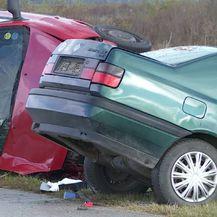 Prometna nesreća na cesti Ostrovo-Tordinci (Foto: Dnevnik.hr) - 2