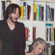 Keanu i Alexandra na predstavljanju svoje knjige