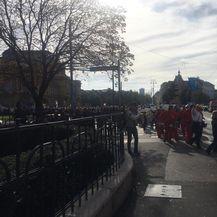 Prosvjetari krenuli prema Markovu trgu (Video: Dnevnik.hr) - 2