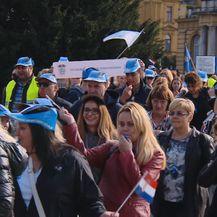 Prosvjed učitelja (Foto: Dnevnik.hr) - 2