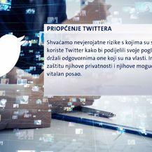 Priopćenje iz Twittera (Foto: Dnevnik.hr)