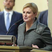 Predsjednica Kolinda Grabar-Kitarović (Foto: Matija Habljak/PIXSELL) - 1