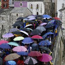 Godišnjica rušenja Starog mosta u Mostaru (Foto: Denis Kapetanovic/PIXSELL) - 5