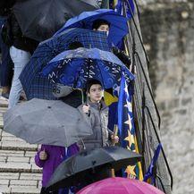 Godišnjica rušenja Starog mosta u Mostaru (Foto: Denis Kapetanovic/PIXSELL) - 9