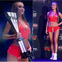 KSW ring djevojke (Foto: Marko Lukunic/PIXSELL)