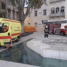 Muškarac u Zadru prijeti da će se baciti sa zgrade (Foto: Zadarski.hr) - 3