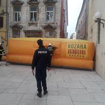 Muškarac u Zadru prijeti da će se baciti sa zgrade (Foto: Zadarski.hr) - 4