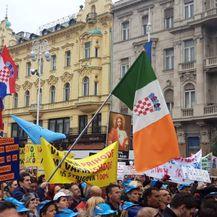 Transparenti na prosvjedu Hrvatska mora bolje (Foto: Dnevnik.hr) - 2