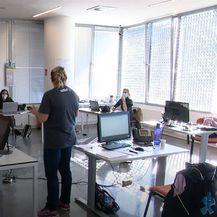 Riječki studenti u prvom covid info centru - 2
