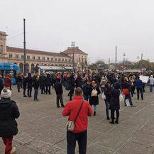 Prosvjed protiv mjera i Stožera u Zagrebu - 3