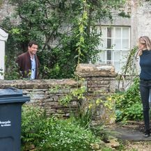 Catherine FitzGerald i Dominic West - 1