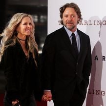 Danielle Spencer i Russell Crowe