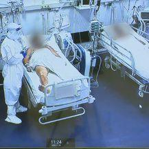Specijalizantica anesteziologije Vera Tomac uz pomoć kamera prati stanje pacijenata - 2