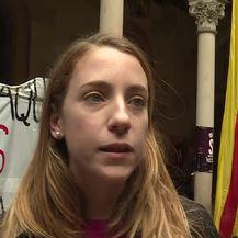 Studenti u Barceloni poručuju kako se osjećaju potlačeno (Video: Dnevnik.hr)
