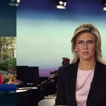 Središte Barcelone blokirano zbog prosvjeda i štrajka (Video: Vijesti Nove TV u 14)