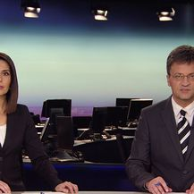 Ivana Petrović i Andrej Plenković iz Rima (Video: Dnevnik Nove TV)