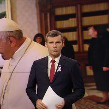Andrej Plenković pozvao papu da posjeti Hrvatsku (Video: Vijesti u 17h)