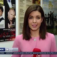 Doris Dragović vratila se u Lisinski (VIDEO: Dnevnik Nove TV)