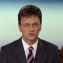 Andrija Jarak ispred Kulmerovih dvora (Video: Vijesti Nove TV u 14)