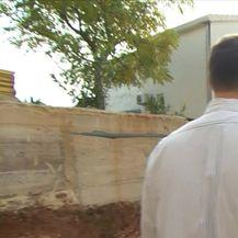 Tajnica u ministarstvu graditeljstva susjedima srušila zid (Video: Dnevnik Nove TV)